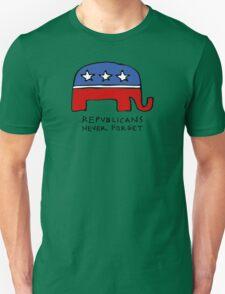 Republicans Never Forget Unisex T-Shirt