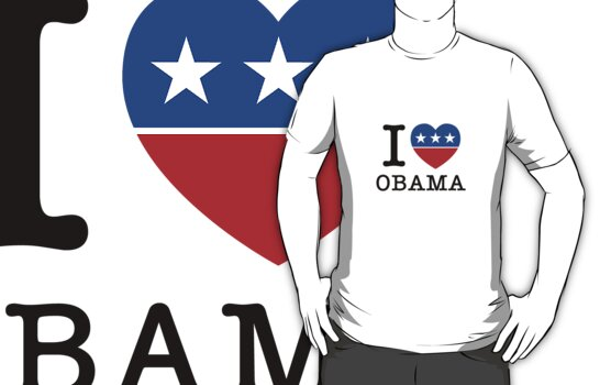 I Heart Obama by 72ndRedPenguin