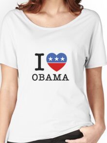 I Heart Obama Women's Relaxed Fit T-Shirt