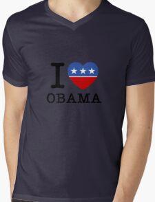 I Heart Obama Mens V-Neck T-Shirt