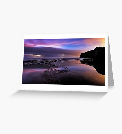 Subtleties of First Light Greeting Card