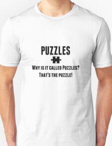 Puzzles Unisex T-Shirt