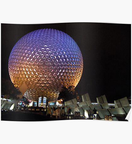 Look at That BIG Golfball! Poster