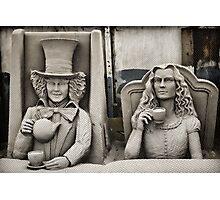 More Tea Alice? Photographic Print