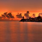 Solomon's Lighthouse, Sunrise, Nassau, Bahamas by Shane Pinder