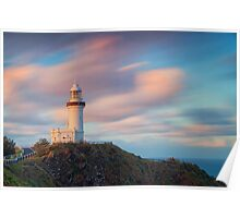 As the Sun Sets at Cape Byron Poster