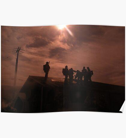 """Blaze""  Best Viewed Large Poster"