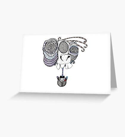 Tux Greeting Card