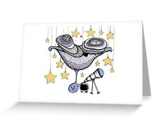 Star Gazer Greeting Card