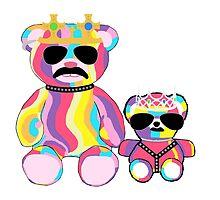 Rainbow Bear by KelsieLAnderson