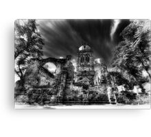 All Saints Infa Red, Pontefract Yorkshire. Canvas Print