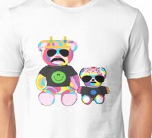 Rainbow Bear with shirts Unisex T-Shirt