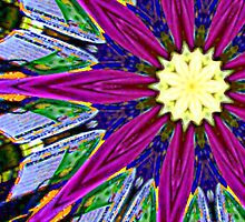 abstract kaleidoscope - phone and iPod case by Scott Mitchell