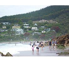 Hot Water Beach, Coromandel Peninsula, North Island, New Zealand Photographic Print