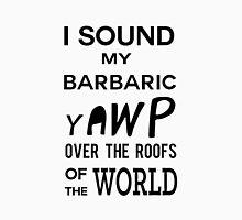 I Sound My Barbaric Yawp Men's Baseball ¾ T-Shirt