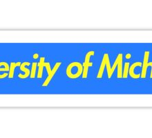 U of M Supreme Sticker