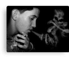 A Breath of Death Canvas Print