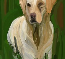 Golden Lab by Dawn Davis
