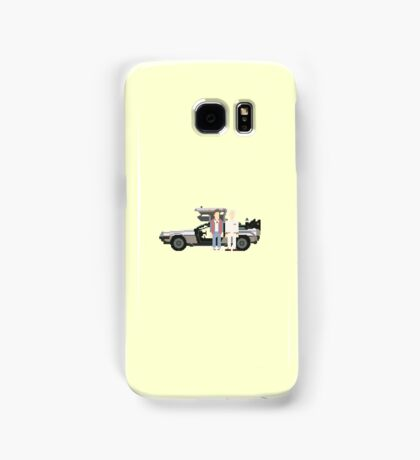 Back To The Future Pixels Samsung Galaxy Case/Skin