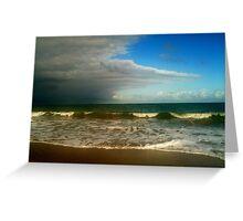 Ocean&Clouds Greeting Card