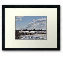 Miles away Framed Print