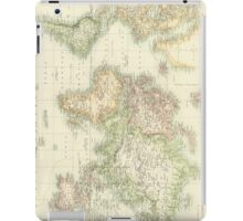 Vintage Map of The World (1872) iPad Case/Skin