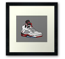 Shoes Fire Reds (Kicks) Framed Print