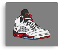Shoes Fire Reds (Kicks) Canvas Print
