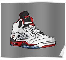 Shoes Fire Reds (Kicks) Poster