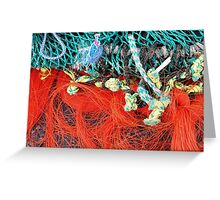 fish net Greeting Card