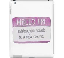 HELLO MY NAME IS iPad Case/Skin