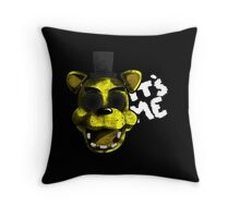 Golden Freddy Throw Pillow