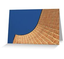 Courthouse Curve Greeting Card