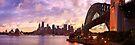 Sydney Twilight, New South Wales, Australia by Michael Boniwell