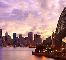 Sydney Twilight, New South Wales, Australia by Michael Boniwell