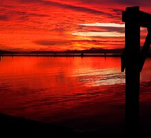 Red Sky at Night by Dale Lockwood