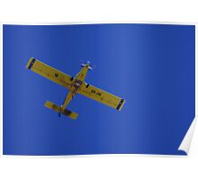 Airtractor water bomber Poster