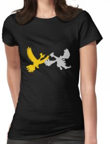 Pokemon - Ho Oh and Lugia Tee Womens Fitted T-Shirt