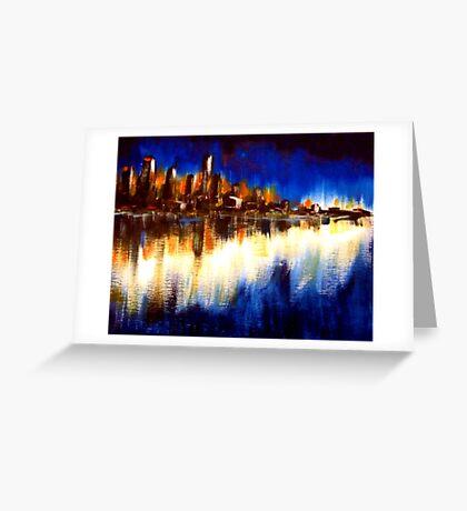 Cityglow Greeting Card