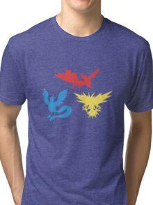 Pokemon Legendary Birds Tee Tri-blend T-Shirt