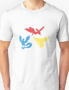 Pokemon Legendary Birds Tee Unisex T-Shirt