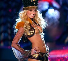 Victoria's Secret Fashion model Erin Heatherton walks the runway by Anton Oparin