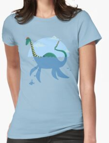 "Loch""Ness"" Monster Womens Fitted T-Shirt"