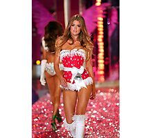 Victoria's Secret model Doutzen Kroes walks the runway Photographic Print