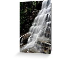 Bear Creek Falls # 1 Greeting Card