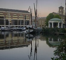 Reflecting on St.Katharine Dock's (5) by Larry Lingard-Davis