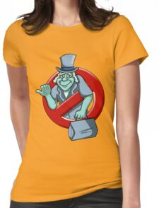 I Ain't Afraid Of No Ghosts - Phineas Womens Fitted T-Shirt
