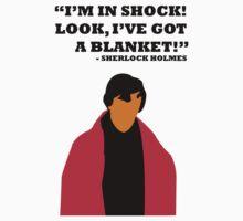 Sherlock Holmes Blanket by Stasia04