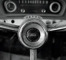 Classic Ford Truck Dashboard by SquidPhotos