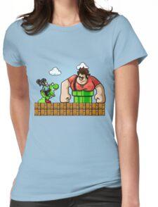 Ralph Stuck In An 8-Bit World Womens Fitted T-Shirt